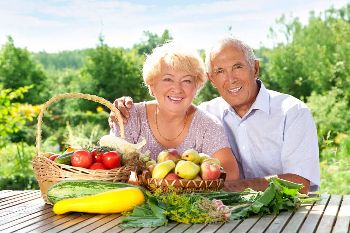 рацион питания для пожилых людей