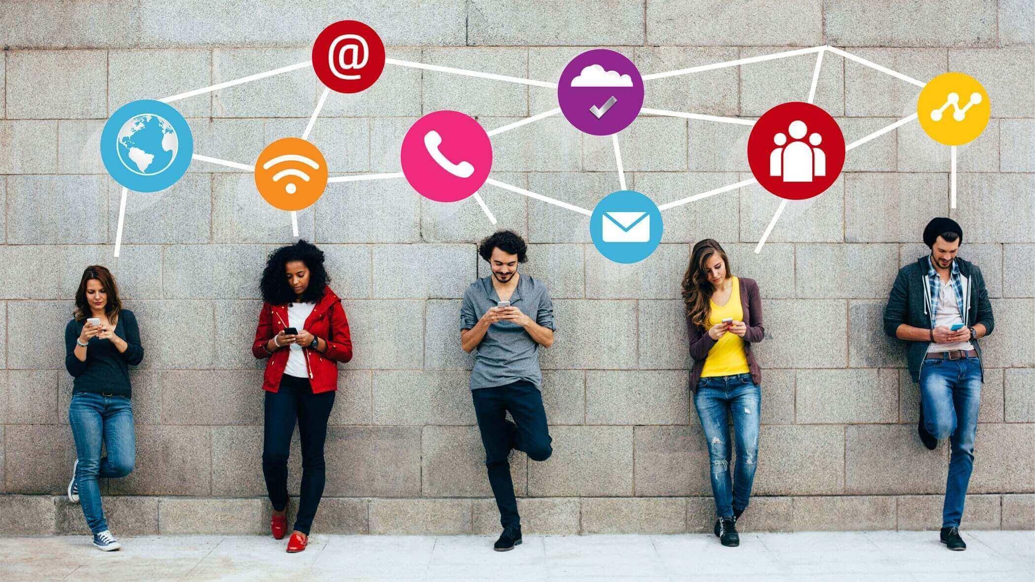 общение с подписчиками в соцсетях