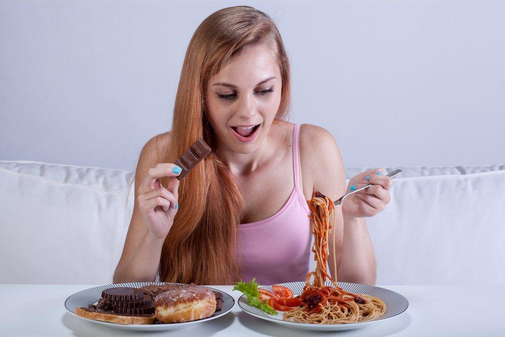 компульсивное переедание